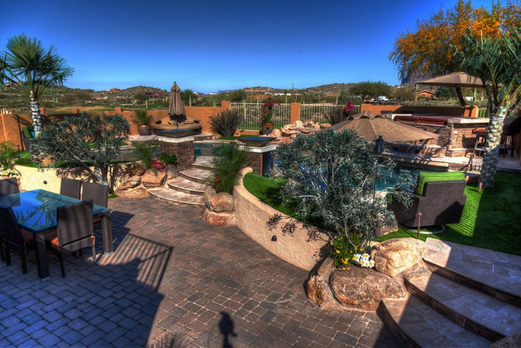 Custom Backyard Designs xtreme backyards - arizona custom landscape & design