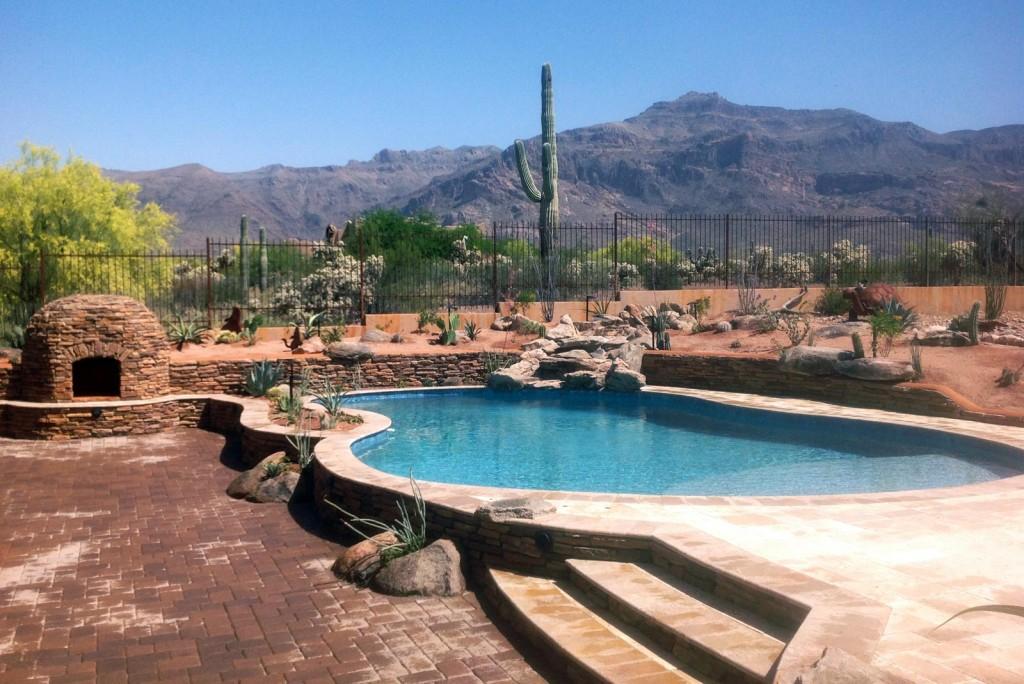 Arizona Backyard Landscaping Ideas backyard landscape design arizona Custom Landscaping